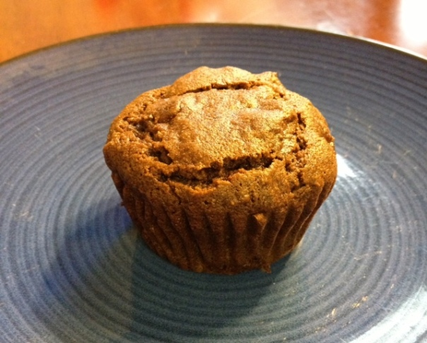 Apple Gingerbread Muffins