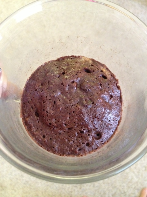 Paleo Brownie in a Cup